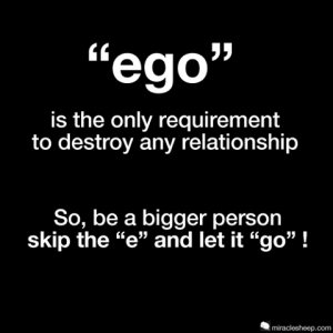 deja el ego