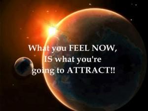 lo que sientes es lo que atraes